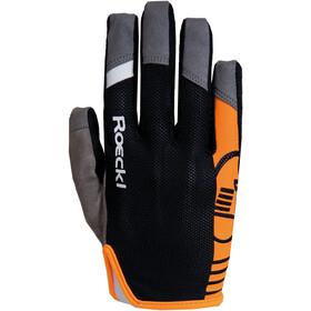 Roeckl Mango Handschuhe Juniors schwarz/orange